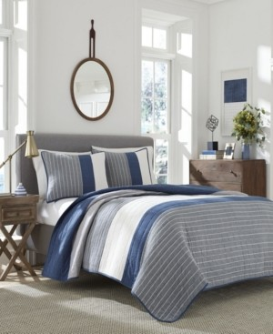Nautica Swale Twin Quilt Bedding