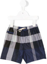 Burberry checked shorts - kids - Polyester - 12 mth