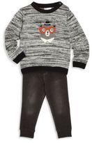 Petit Lem Little Boy's Sweater & Pants Set