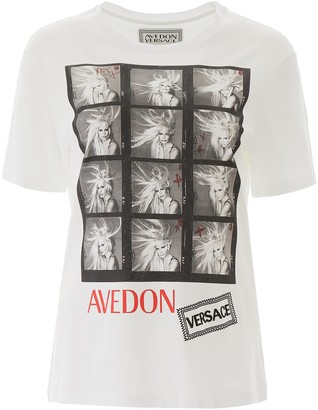Versace X Avedon Crew Neck T-Shirt