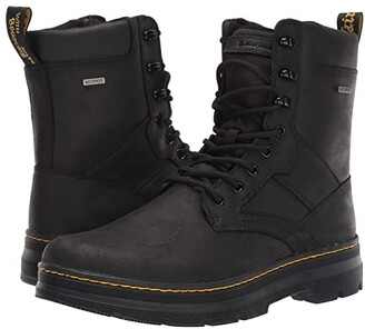 Dr. Martens Iowa Waterproof Tract II (Black Republic Waterproof/Extra Tough Nylon) Shoes