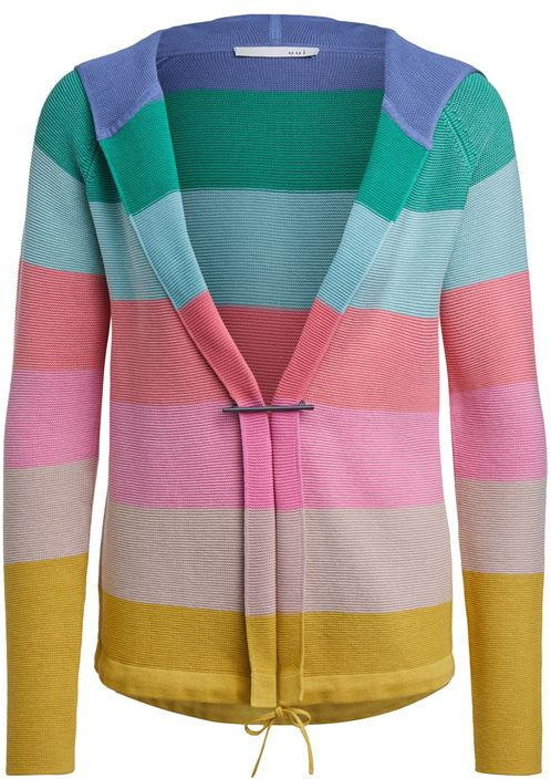 Thumbnail for your product : Oui Stripe Cardigan