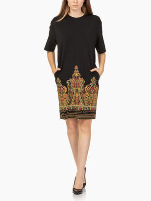 Etro Sufflock Jersey Dress