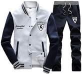 Rocky Sun Mens Slim Fit Jogging Sweat Suits Casual Tracksuits + Pants L/G xl