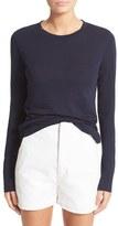 Vince Women's Cotton & Cashmere Crewneck Sweater