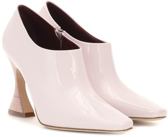Sies Marjan Drea patent leather ankle boots