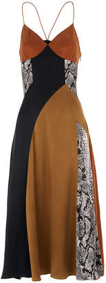 Whistles Dallaway Silk Strappy Dress