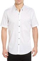 7 Diamonds Men's Indian Summer Slim Woven Shirt