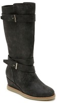 Revel Girls' Revel Daisy Tall Wedge Buckle Riding Boots - Assorted Colors