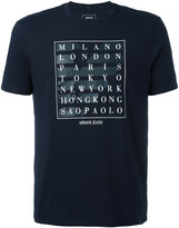Armani Jeans city print T-shirt - men - Cotton - S