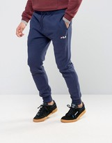 Fila Vintage Skinny Joggers With Small Script