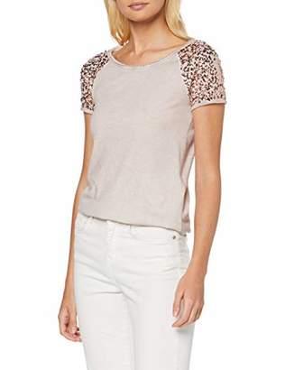 Only Women's Onldisco Seq Tee S/s Top JRS T-Shirt,10 (Size: Small)