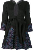 Mara Hoffman embroidered skater dress - women - Modal/Viscose/Cotton/Spandex/Elastane - 6