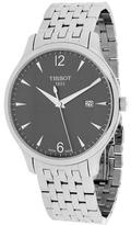 Tissot Tradition T0636101106700 Men's Round Silver Stainless Steel Watch