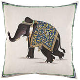 "John Robshaw Elephant Pillow, 20""Sq."