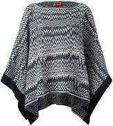Missoni zig-zag knit poncho - women - Wool/Acrylic - One Size