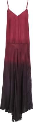 Mes Demoiselles Bali Degrade Silk-habotai Midi Slip Dress