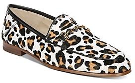 Sam Edelman Women's Loraine Leopard Print Loafers