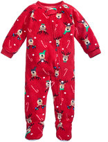 Family Pajamas 1-Pc Reindeer Footed Pajamas, Baby Boys' or Baby Girls' (12-24 months) & Toddler Boys' or Toddler Girls' (2T-3T) Created for Macy's