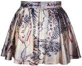Ninimour- Sexy Retro Vintage Digital Print Skater Skirt