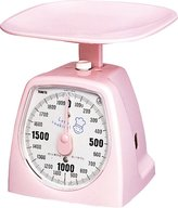 Tanita Thani hand analog scale cooking 2000g 1437-N Pink (japan import)