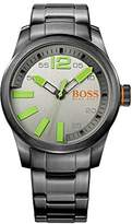 HUGO BOSS Men's Paris 1513050 Stainless-Steel Quartz Watch