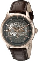 Stuhrling Original Men's Executive Legacy Brown/ 316L Surgical Grade Stainless Steel Watch