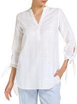 Sportscraft Renee Check Linen Shirt