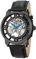Stuhrling Original Men's Casatorra Croc-Embossed Watch