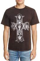 Bravado Guns N' Roses Cross Crewneck Short Sleeve Tee - 100% Exclusive