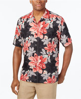 Tommy Bahama Men's Big & Tall Festive Flora Silk Shirt