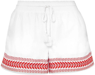 J.Crew Embroidered Cotton Shorts