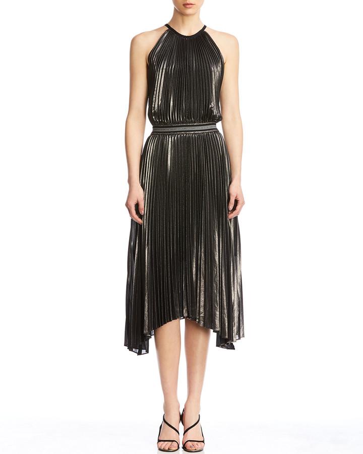 Bailey 44 Madison Pleated Asymmetrical Dress
