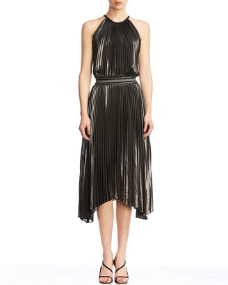 Bailey 44 Madison Pleated Asymmetrical Dress
