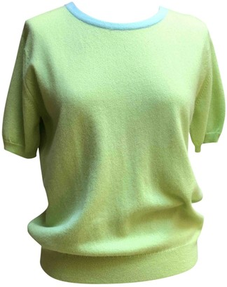 Chanel Green Cashmere Knitwear