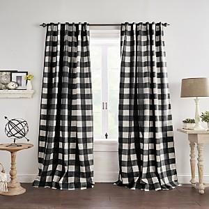 Elrene Home Fashions Grainger Buffalo Check Blackout Window Curtain, 52 x 95