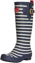 Joules Womens Dragonfly Wellington Synthetic Boots 6 US
