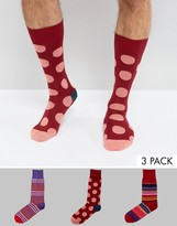 Paul Smith Socks Polka Dot 3 Pack