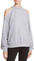 Honey Punch Cold Shoulder Sweatshirt