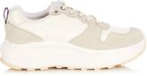 Eytys Jet low-top suede and nylon trainers