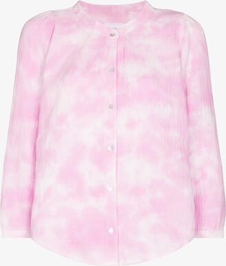 HONORINE Pink Chloe Tie-Dye Shirt