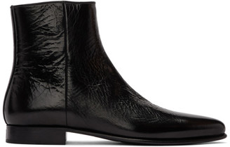 Givenchy Black Dallas Zip-Up Boots