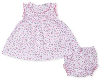 Kissy Kissy Couture Castle Print Dress And Bloomers (0-24 Months)