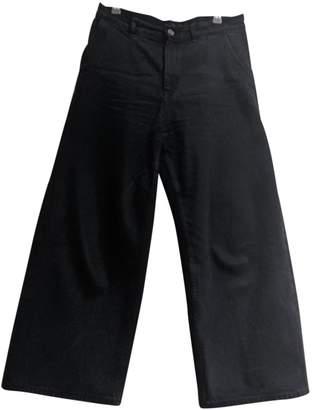 Cos Black Cotton Jeans for Women