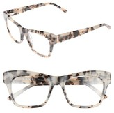 L.A.M.B. Women's 50Mm Optical Rectangular Glasses - Ivory
