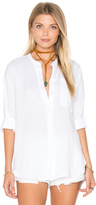 James Perse Dolman Tunic Shirt