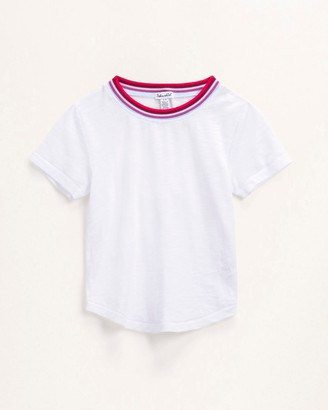 Splendid Little Girl Yarn Die Stripe Tee