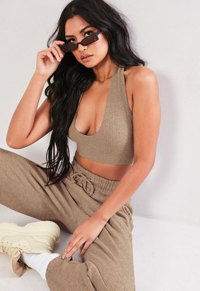 Missguided Halter Neck Bralet