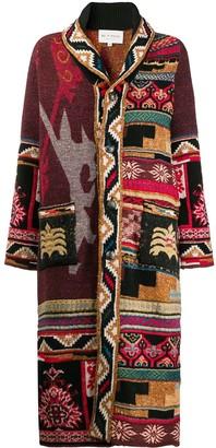 Etro Long Tapestry Cardigan