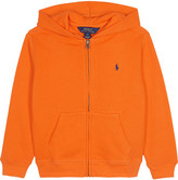 Ralph Lauren Zipped cotton hoody 2-7 years